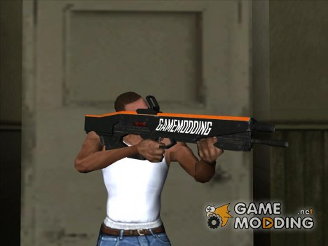 Cyberpunk GAMEMODDING Rifle for GTA San Andreas