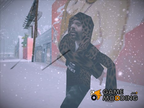 Leopard Hooded Hobo для GTA San Andreas