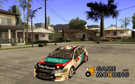 Mitsubishi Lancer Evo IX с новым винилом for GTA San Andreas