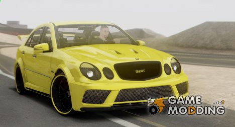 Mercedes Benz E63 Qart Tuning Full 3D для GTA San Andreas