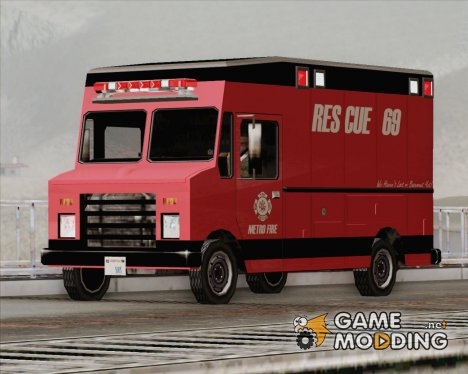 Boxburg - Metro Fire Rescue 69 для GTA San Andreas