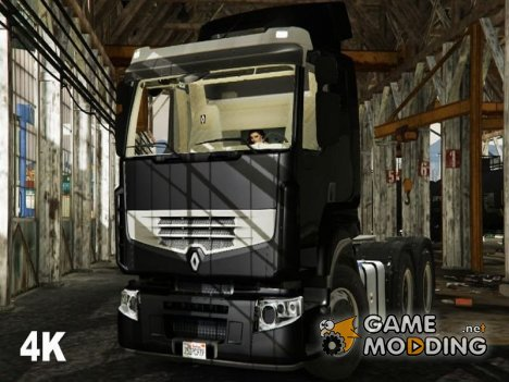 Renault Premium 6x4 1.0 for GTA 5