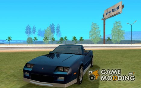 Chevrolet Camaro RS 1991 Convertible for GTA San Andreas