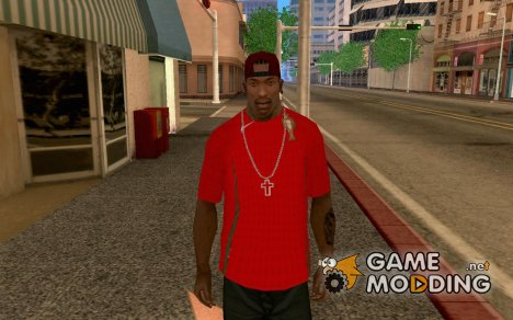 Футболка К.Роналду for GTA San Andreas