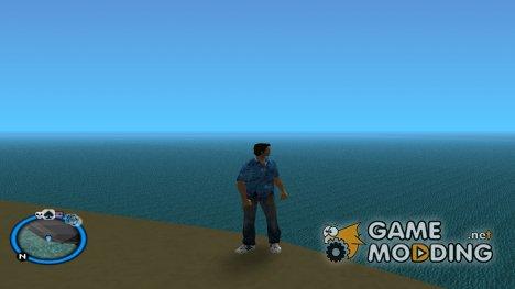 Синий круг радара для GTA Vice City