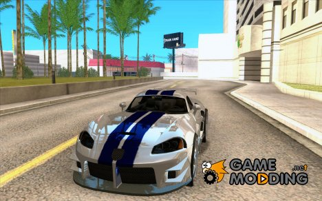 Dodge Viper from MW для GTA San Andreas
