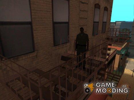 Осязаемые лестницы для GTA San Andreas