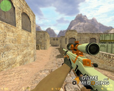 AWP Azimov из CS GO for Counter-Strike 1.6