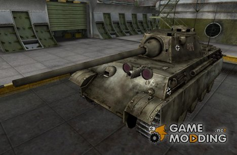 Шкурка для Panther II (+remodel) for World of Tanks