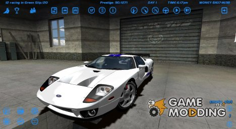 Ford GT for Street Legal Racing Redline