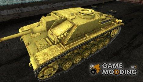 Шкурка для StuG III for World of Tanks