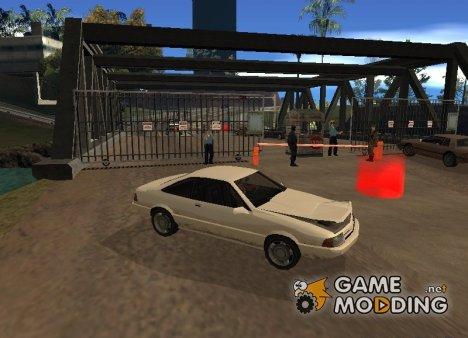 Рабочая таможня v 1.0 for GTA San Andreas