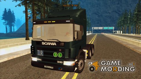 Scania P340 6x4 for GTA San Andreas