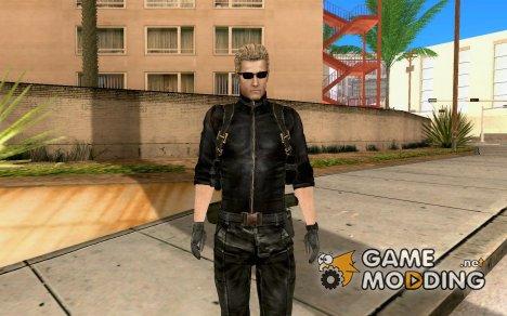 Wesker из RE5 for GTA San Andreas
