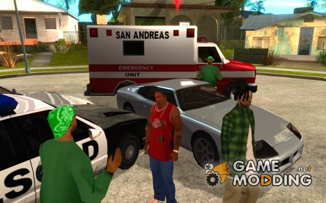 Emergency Calls for GTA San Andreas