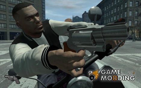 Револьвер S&W M500ES для GTA 4