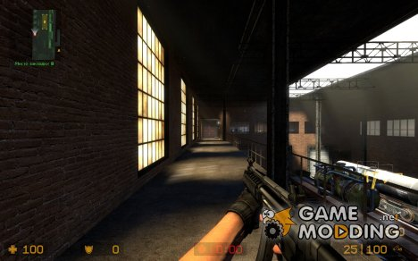 Heckler & Koch RAS для Counter-Strike Source