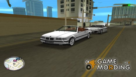 BMW e36 cabrio for GTA Vice City