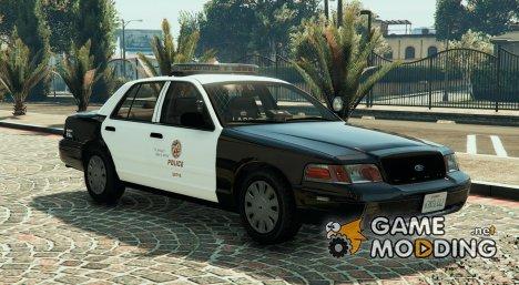 LAPD Ford CVPI Arjent 4K v3 for GTA 5