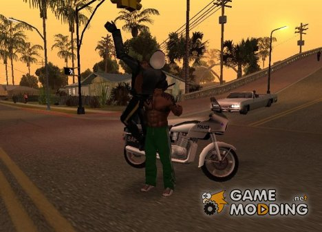 Chokeslam v.1.0 for GTA San Andreas