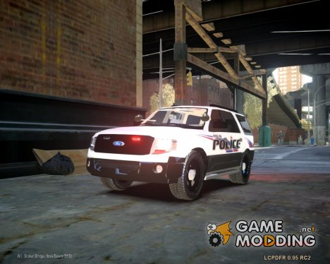 Ford Expedition 2010 Delta Police [ELS] для GTA 4