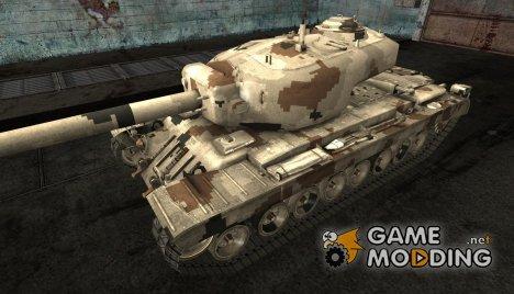 Шкурка для T34 hvy for World of Tanks