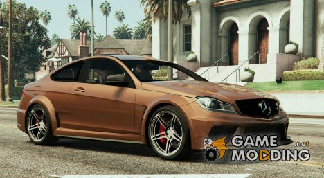 Mercedes-Benz C63 AMG for GTA 5