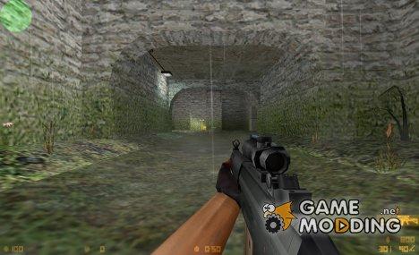 Sig Arms SG552 Commando Acog BAC для Counter-Strike 1.6