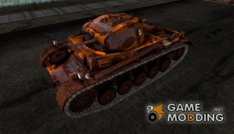Шкурка для PzKpfw II для World of Tanks