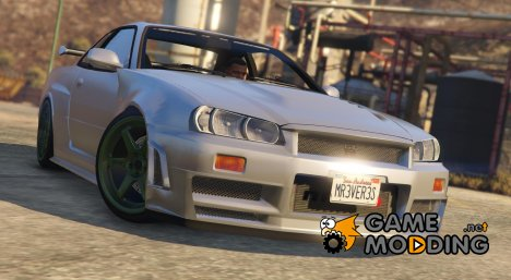 Nissan Skyline R34 GT-R for GTA 5