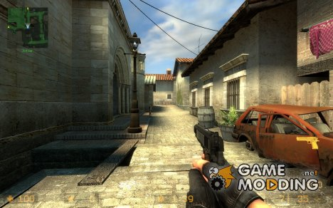 Twinkie Colt 45 60s redux для Counter-Strike Source