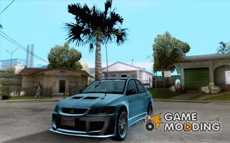 Mitsubishi Lancer EVO VIII BlackDevil for GTA San Andreas