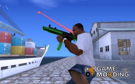 Green MP5 для GTA San Andreas