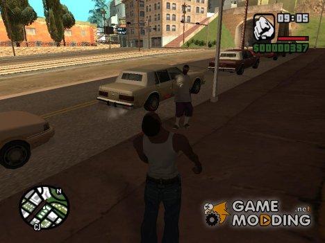 Регенерация здоровья for GTA San Andreas