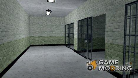 Ретекстуризация интерьера и гаража LSPD для GTA San Andreas