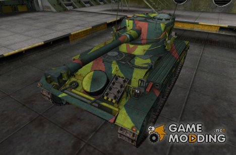 Шкурка для AMX 13 75 for World of Tanks