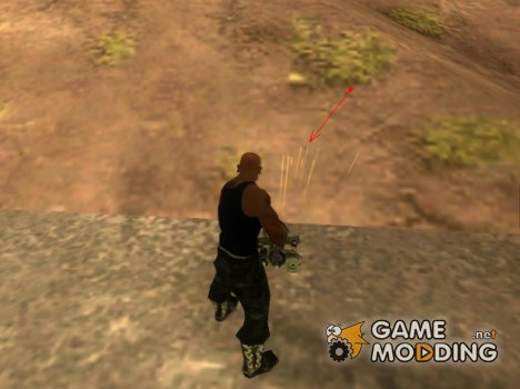 Следы от пуль для GTA San Andreas