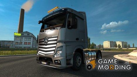 Mercedes Actros MP4 Mega Mod V2 для Euro Truck Simulator 2