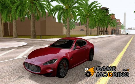 Maserati GranTurismo S for GTA San Andreas