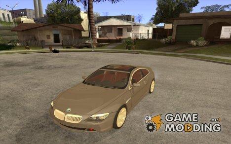 BMW 645ci E63 2004 с красным салоном for GTA San Andreas
