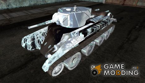 Шкурка для БТ-7 Broken Glass для World of Tanks