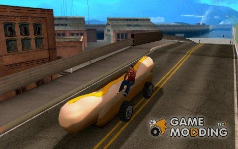 HotDog Mobile для GTA San Andreas