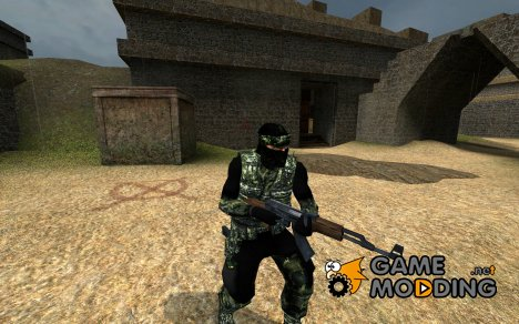 Jungle Ops Guerilla - High Res для Counter-Strike Source