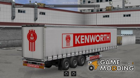 Kenworth Trailer HD for Euro Truck Simulator 2