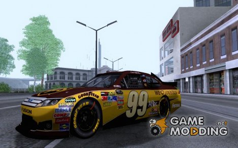 NASCAR Ford Fusion 99 UPS для GTA San Andreas
