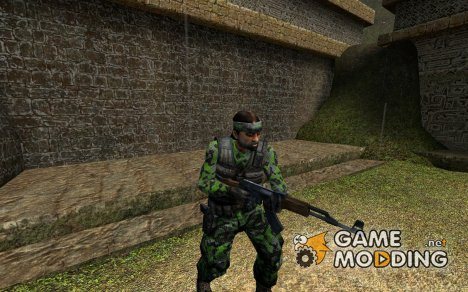 Dpmoeckel's Jungle Camo for Guerilla для Counter-Strike Source