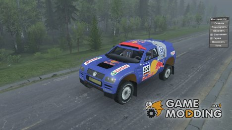 Volkswagen Touareg «Rally Old» для Spintires 2014