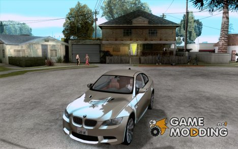BMW M3 MotoGP SafetyCar for GTA San Andreas