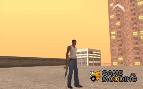 MP5A2 for GTA San Andreas
