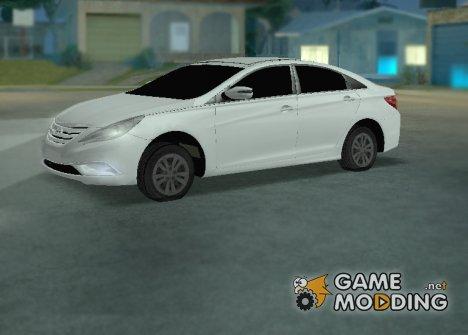 Hyundai Sonata 2013 for GTA San Andreas